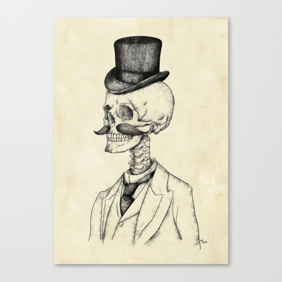 Old Gentleman  Canvas Print