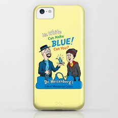 Mr. White Can Make Blue! iPhone 5c Slim Case