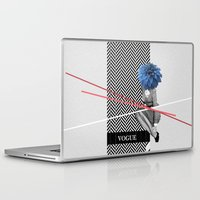 vogue Laptop & iPad Skins featuring Vogue by Frank Moth