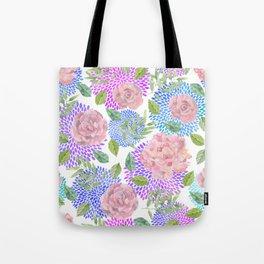 floral pattern vb Tote Bag