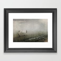 Unsure Framed Art Print