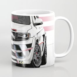 Jeep Cherokee SRT Artrace body-kit Coffee Mug