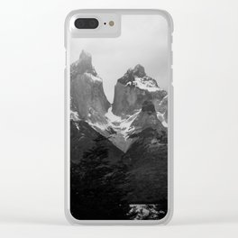 Cuernos del Paine Window Clear iPhone Case
