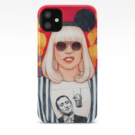 jazz art pop punk iPhone Case