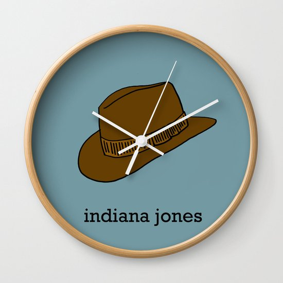 Indiana Jones Wall Clock