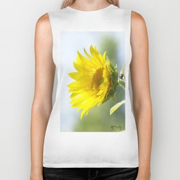 Ladybug and it's Sunflower Biker Tank