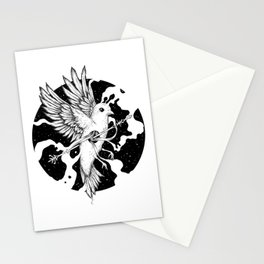 Spilled Existence Stationery Cards
