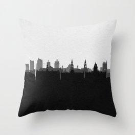 City Skylines: Leeds Throw Pillow