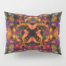 Psychedelic kaleidoscope cloud pattern Pillow Sham