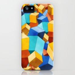 Cubism iPhone Case