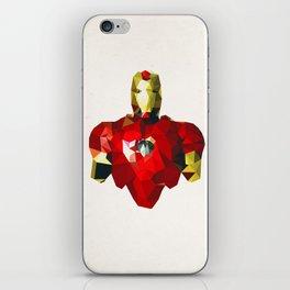 Polygon Heroes - Iron Man iPhone Skin