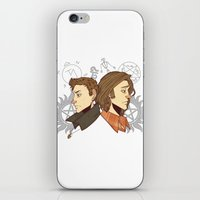 winchester iPhone & iPod Skins featuring Winchester Bros by PotatoCrisp