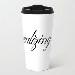 Like, realizing stuff - Kylie Jenner joke Travel Mug