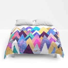 Enchanted Mountains Comforters