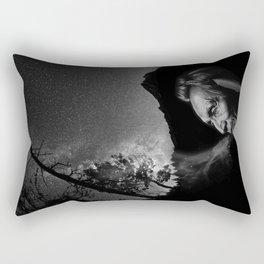 Black Elk Rectangular Pillow