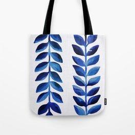 Tropical Indigo II Tote Bag
