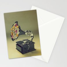 put some flowers in your guns Stationery Cards