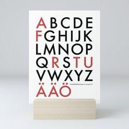 Futura Poster Mini Art Print