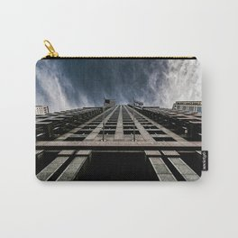 A Chicago Sky Walk, Welcome to the Clouds Carry-All Pouch