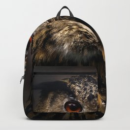 The old eagle owl Backpack