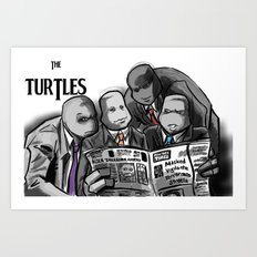 Turtles 4 ... Art Print
