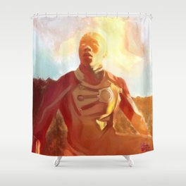 I Don't Just Burn Shower Curtain