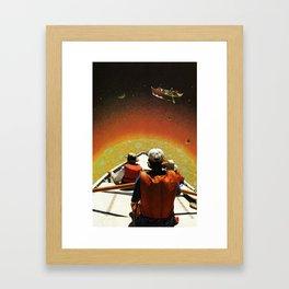 The Sun Is Up Framed Art Print
