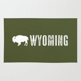 Bison: Wyoming Rug