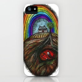 Fox and the Rainbow iPhone Case