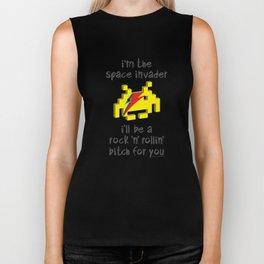 I'm the space invader Biker Tank