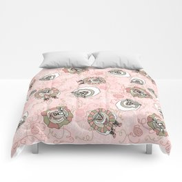 Sheep Coming Unraveled Comforters