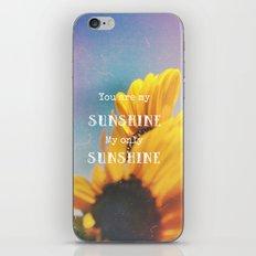Sunshine iPhone & iPod Skin