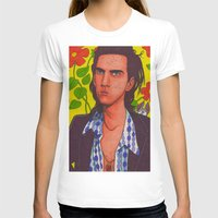 nick cave T-shirts featuring Spotty Nick by Anna Gogoleva