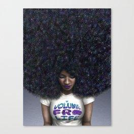 Volume Fro Life Canvas Print