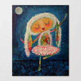 Ballerina Bunny Canvas Print