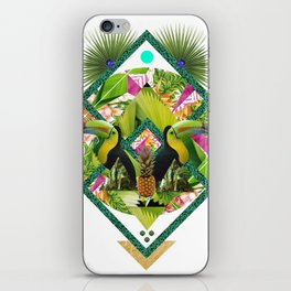 ▲ TROPICANA ▲ by KRIS TATE x BOHEMIAN BLAST iPhone Skin