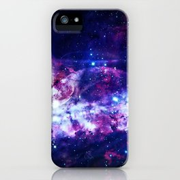 Shadows in the space iPhone Case