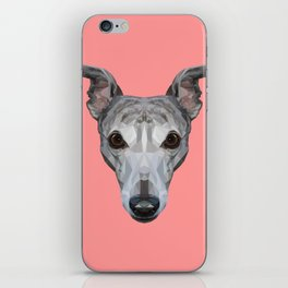Whippet // Pink iPhone Skin