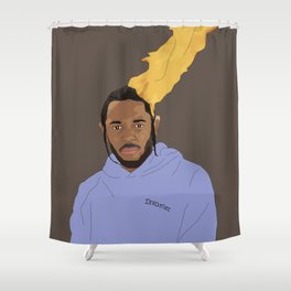Kendrick Lamar, Brown Shower Curtain