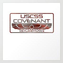 Covenant Oxide Art Print