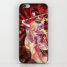 Life Through Death iPhone & iPod Skin