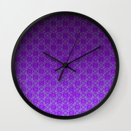 D20 Heathen Crit Pattern Premium Wall Clock