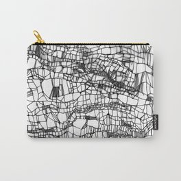 deconstructed knit Carry-All Pouch