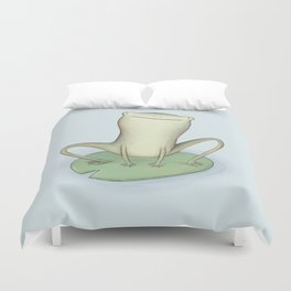Happy Frog Duvet Cover