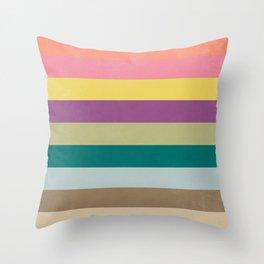Of Autumns Past / Rainbow Throw Pillow