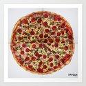 Everything Pizza by jjgallowaystudio
