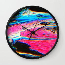 Bright Flow Wall Clock