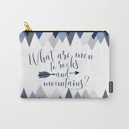 Pride & Prejudice - Mountains Carry-All Pouch