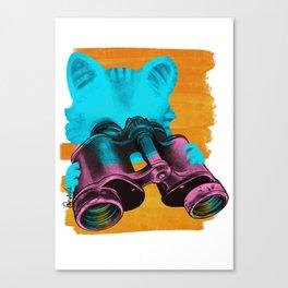 Future belongs to Curious Canvas Print