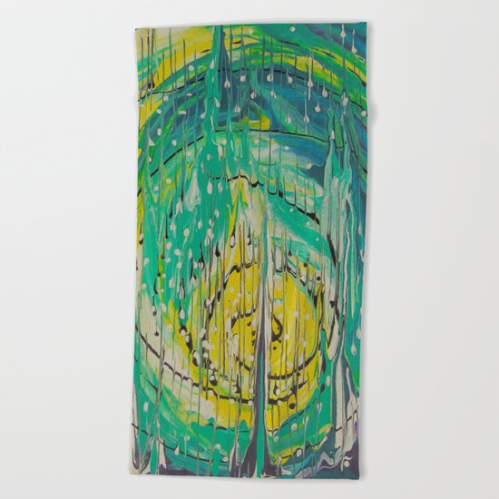 Free abstract Beach Towel